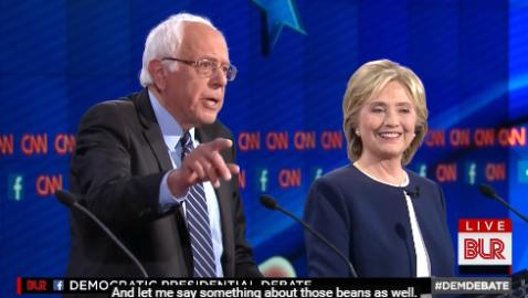 Bad lip reading of the democratic debates