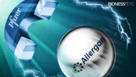 Pfizer Allergan merge