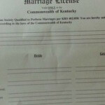 Kentucky Removes Clerk Names from Marriage Certificates