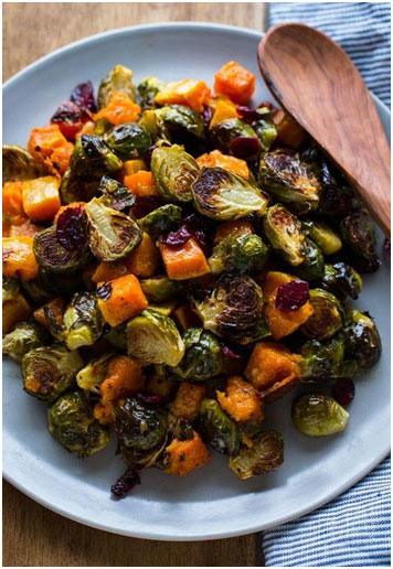 roasted-brussels-sprouts-with-squash-cranberries-and-dijon-vinaigrette-6