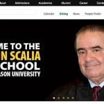 George Mason University Law School Renamed in Honor of Antonin Scalia