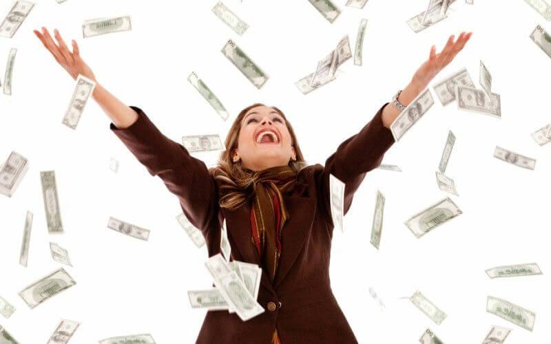 dancing in money
