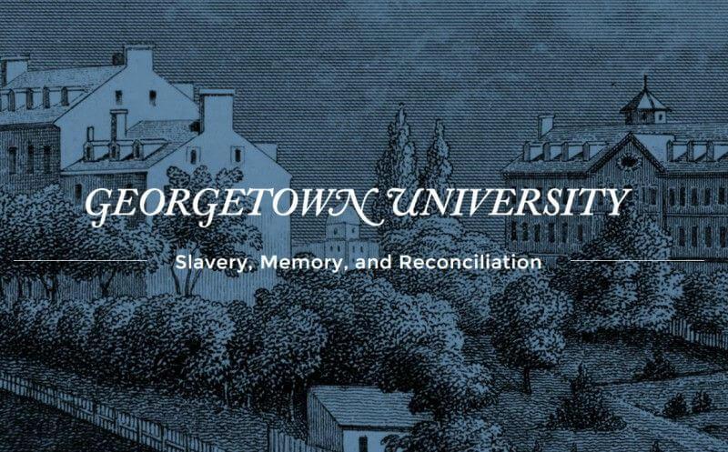 Georgetown university slave