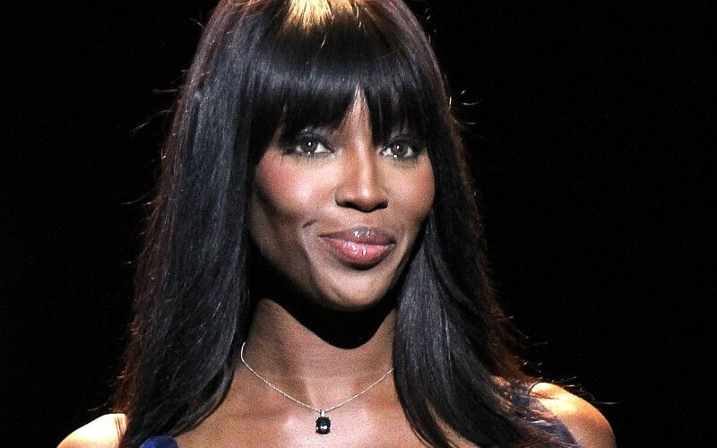 NEW YORK, NY - FEBRUARY 14:  Naomi Campbell walks the runway at Naomi Campbell's Fashion For Relief Charity Fashion Show during Mercedes-Benz Fashion Week Fall 2015 at The Theatre at Lincoln Center on February 14, 2015 in New York City.  (Photo by Paul Morigi/WireImage)