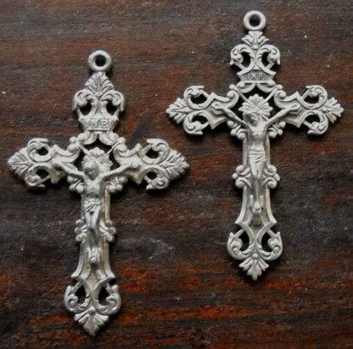 two crucifixes