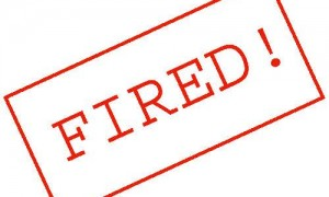 Don't get fired from your job as an attorney.