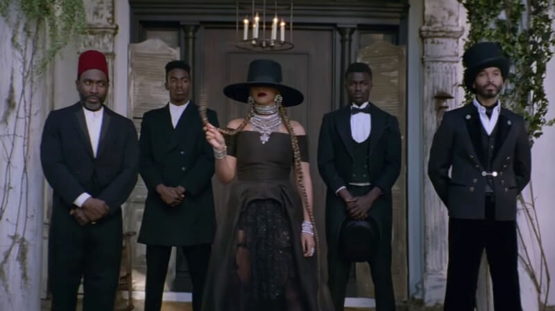 "Beyoncé, in a scene from the video for ""Formation"
