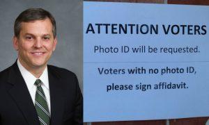 Josh Stein voter ID