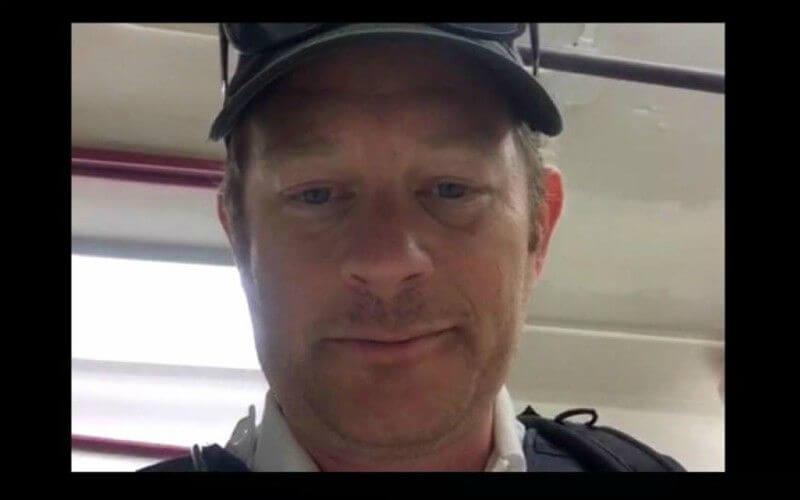 Moore secret service officer
