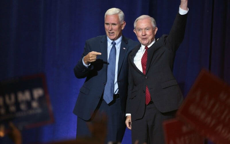 Pence and Sessions