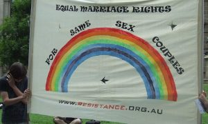 same sex marriage Australia