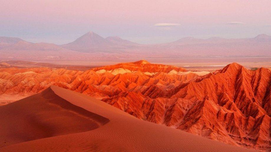 The Atacama Desert is the driest spot on Earth.
