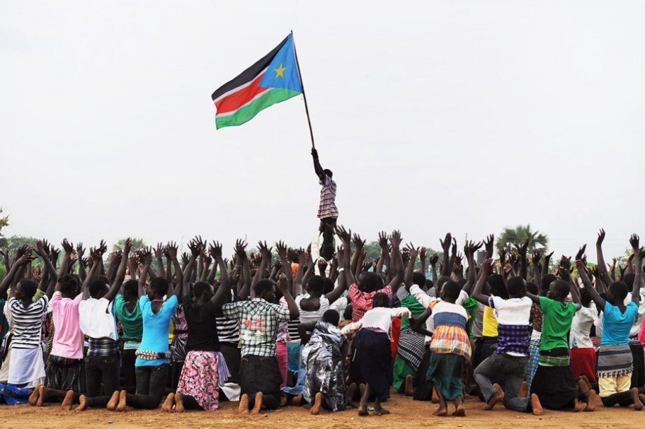 South Sudan is the youngest country.