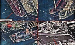 Chine North Korea boats