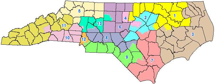 North Carolina maps