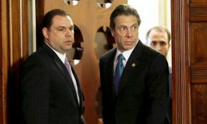 Former Cuomo Aide Is Getting His Legal Bills Paid by Someone