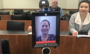 UC Irvine law student