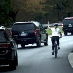 Cyclist Who Flipped Off Trump Sues Former Employer
