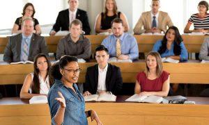 law school classroom