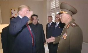 North Korea Releases Footage of Trump Saluting NK General